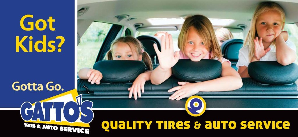 Billboard Campaign Development - Gatto's Tires & Auto Service