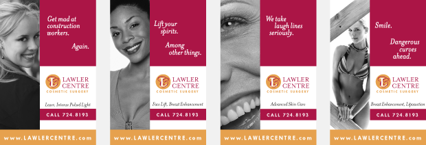 Lawler Centre for Cosmetic Surgery Ad Campaign Development