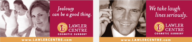 Lawler Centre for Cosmetic Surgery Billboard Campaign Development