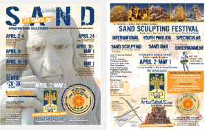 Cultural Marketing Initiative Art of Sand Portfolio Ads