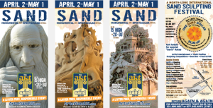 Cultural Marketing Initiative Art of Sand Portfolio Rackcards