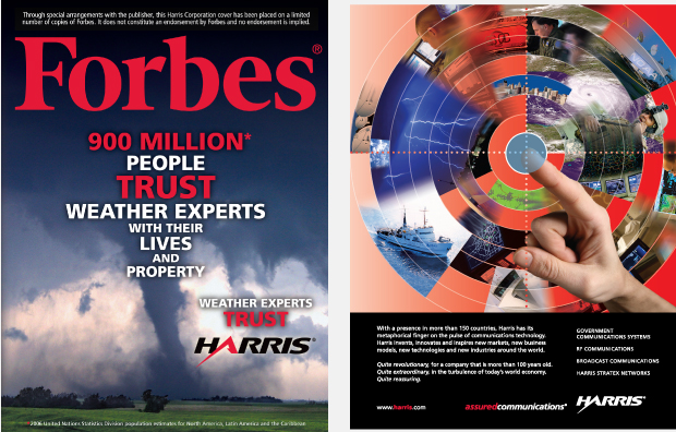 Harris Forbes Direct Outreach Design - Weather Cover