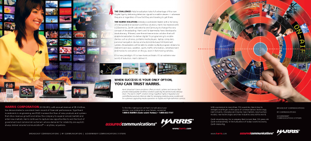 Harris Forbes Direct Outreach Design - Digital Broadcast Spread