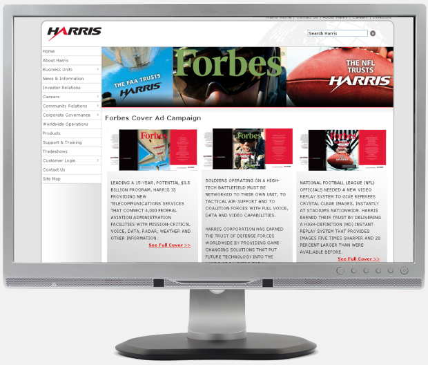 Harris Forbes Campaign Webpage