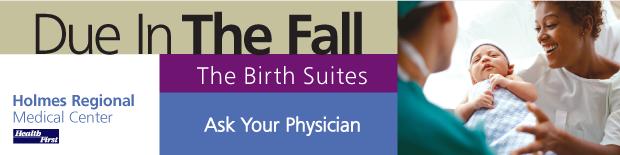 Health First Birth Suites Portfolio Art