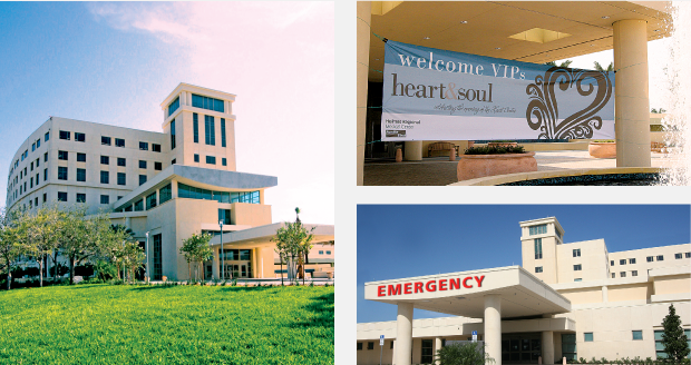 Signage Design / Facility Launch - Health First Heart Center