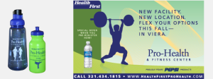 Health First Pro Health and Fitness Ad