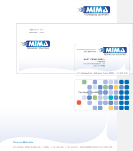 MIMA Technology Solutions Portfolio Stationary