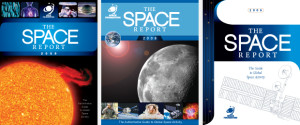 The Space Report Portfolio Covers