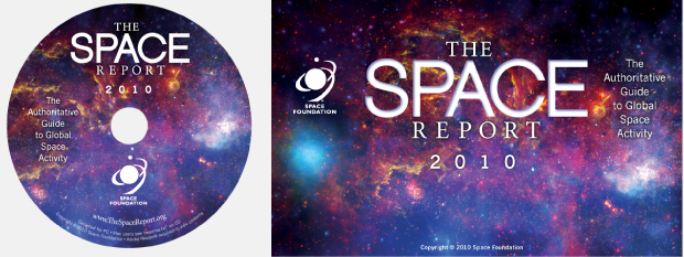 The Space Report Portfolio CD Rom and Splash Page