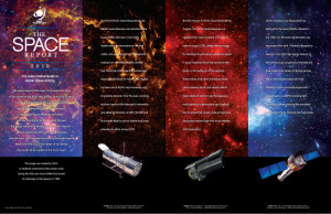 The Space Report 2010 Portfolio Inside Front Cover Spread