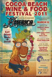 Cocoa Beach Wine and Food Festival 2011