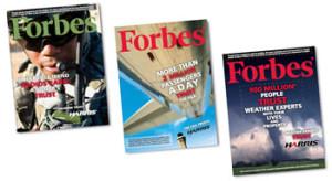 Harris Forbes CoverWrap Series Advertising Marketing Firm Award Brevard FL Brandt Ronat