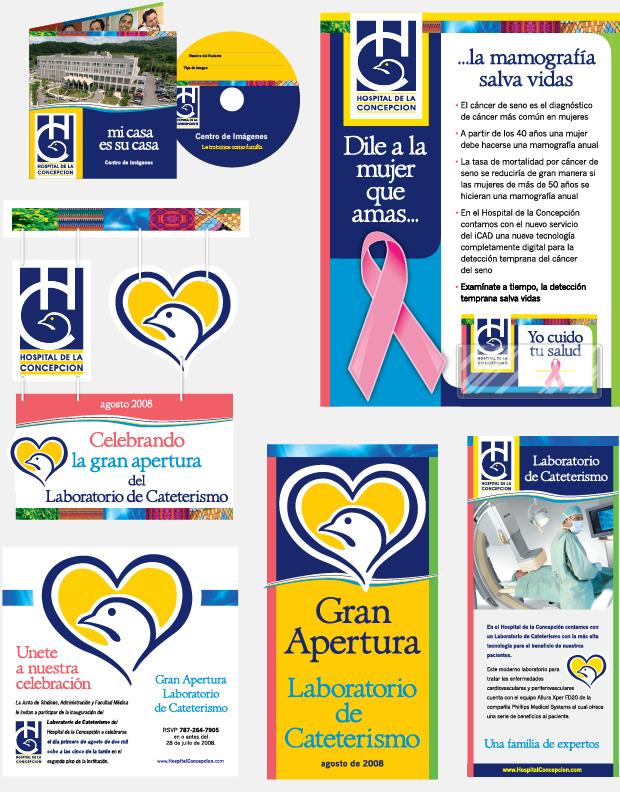 Hospital De La Concepcion print Advertising Spanish