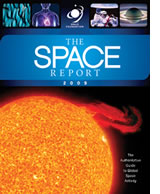 The Space Report 2009 Cover Space Foundation Advertising Marketing Firm Award Brevard FL