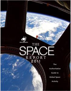 Space Report 2011 Portfolio Cover Space Foundation Marketing Advertising Brevard Florida Brandt Ronat