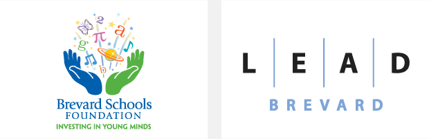 Logo / Brand Design / Development - Brevard Schools Foundation / LEAD Brevard