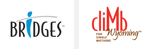 Logo / Brand Design / Development - Bridges / Climb Wyoming