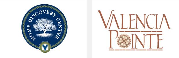 Logo / Brand Design / Development - Home discovery center viera / Valencia Pointe