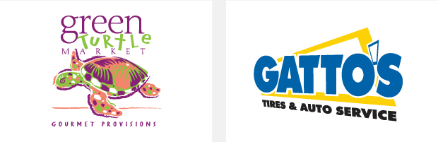 Logo / Brand Design / Development - Green Turtle / Gatto's Tires