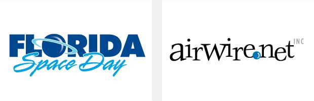 Logo / Brand Design / Development - Florida Space Day / airwire.net