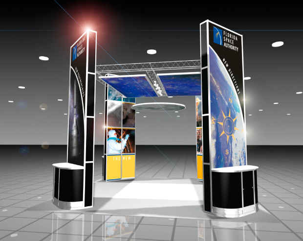 Florida Space Authority Trade Show Display