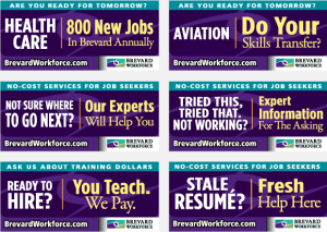 Brevard Workforce advertising Portfolio billboard campaign 2