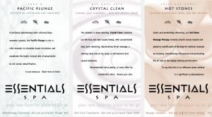 Essentials Spa Portfolio Direct Mail