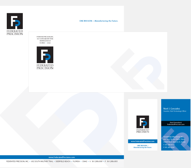 Federated Precision Branding Identity