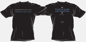 Lead Brevard Portfolio T Shirt Design