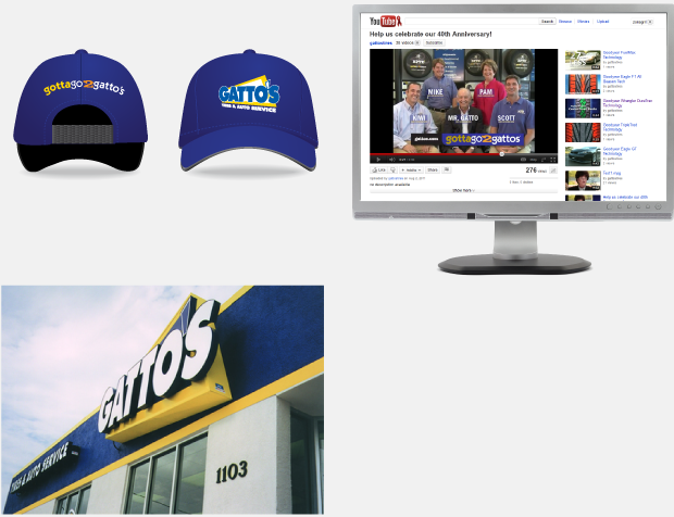 Gatto's Tires & Auto Service Collateral 2