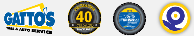 40th Anniversary Campaign Development - Gatto's Tires & Auto Service