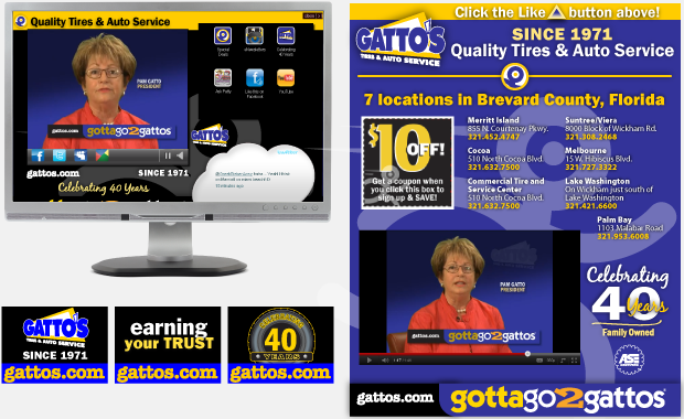 Advertising Interactive Yahoo Behavioral Targeted Campaign - Gatto's