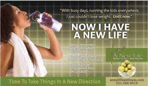 New Life Wellness Magazine advertising campaign