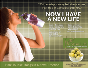 New Life Wellness Newspaper Insert advertising campaign