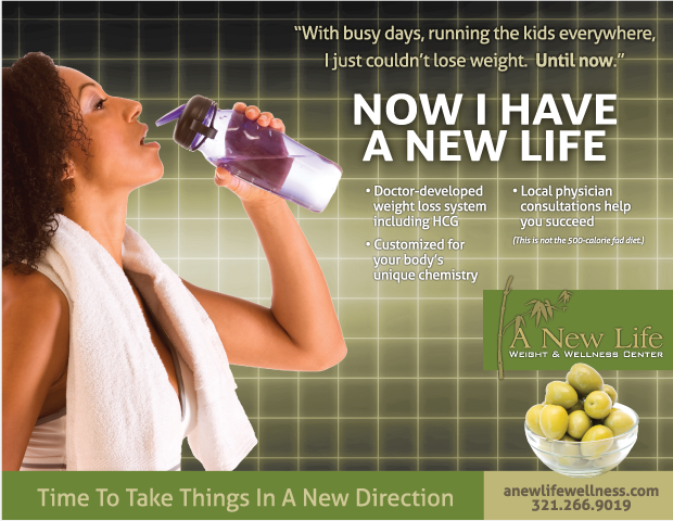 Newspaper advertising campaign -New Life Wellness