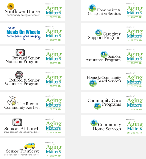Name / Brand / Logo Design - Services of Aging Matters in Brevard