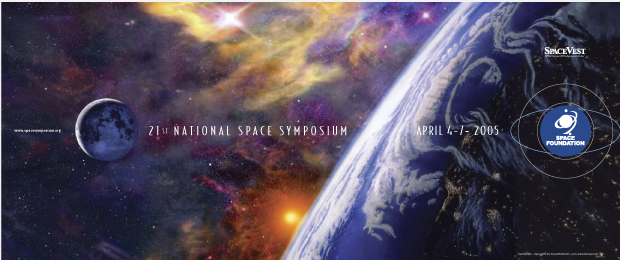 Poster Design - National Space symposium 2005 / Space Foundation