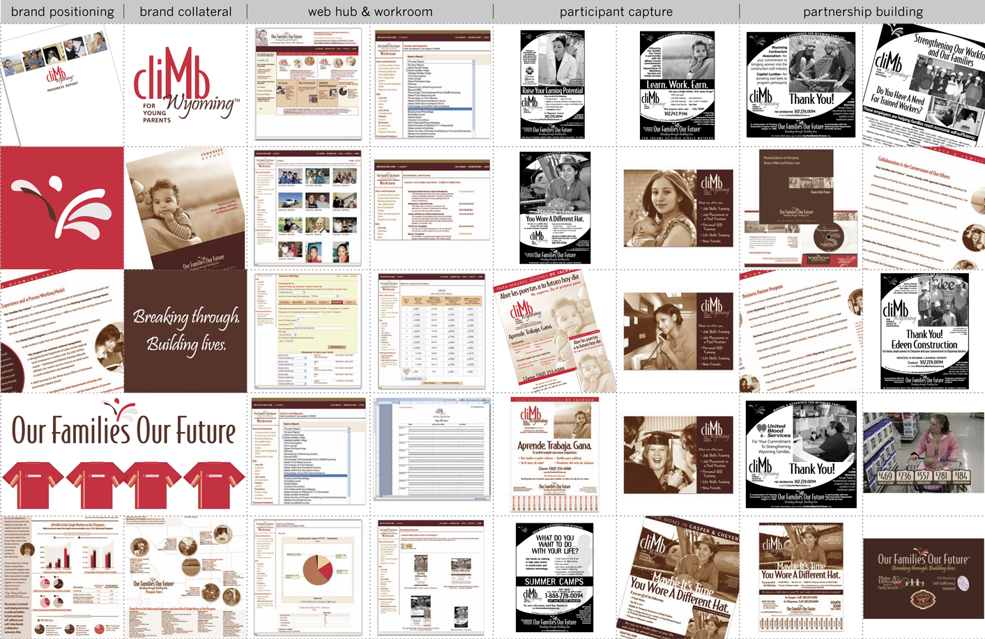 Campaign Design / Development - Our Families Our Future Wyoming