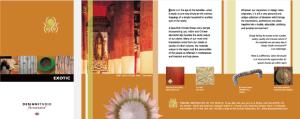 Portfolio Ferrazzano Brochure Exotic
