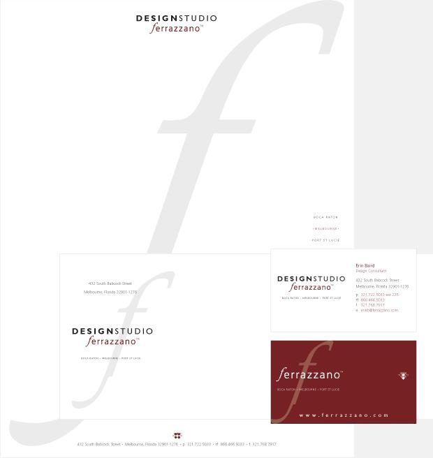 Collateral Design / Development / Ferrazzano
