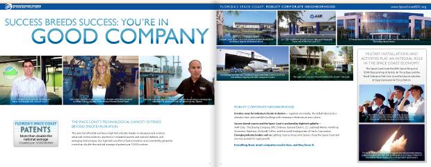 Economic Development Commission Florida's Space Coast: Brochure Design