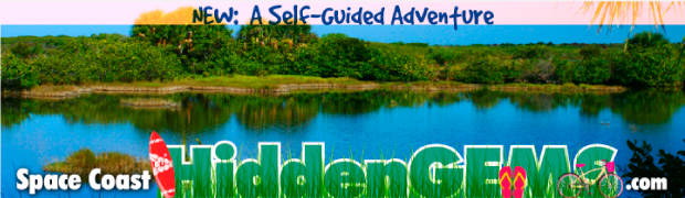 Space Coast Hidden Gems Digital Billboard Creative campaign sample