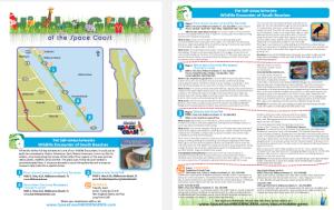 Space Coast Hidden Gems Hotel Outreach Creative campaign sample