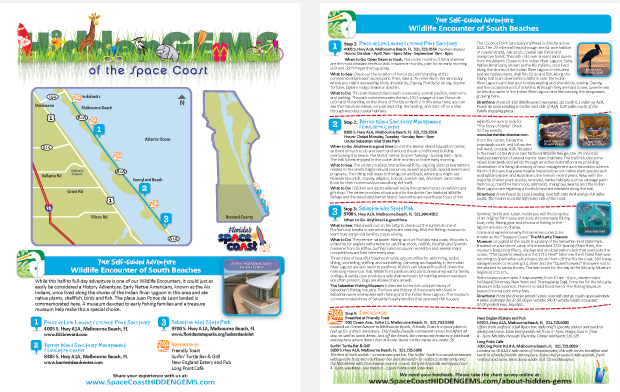 Space Coast Hidden Gems Hotel Outreach Creative campaign sample