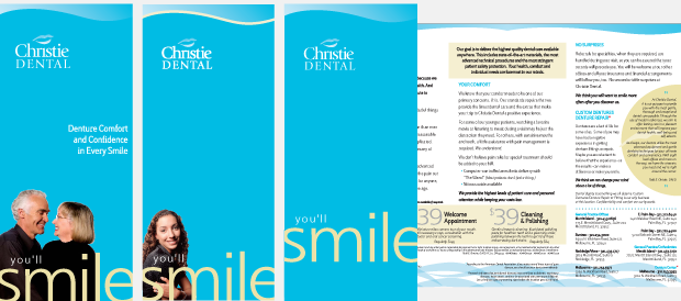 Christie Dental Portfolio Collateral Development