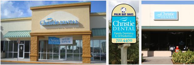 Christie Dental Portfolio Exterior Signage Design