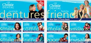 Christie Dental Portfolio Outdoor Billboard Campaign