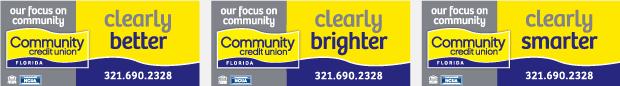 Billboard Campaign Design - Community Credit Union Florida