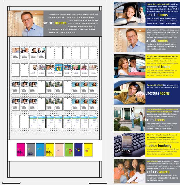 Signage Advertising Campaign Design - Community Credit Union Florida
